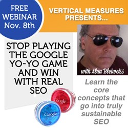 Alan Bleiseiss SEO Webinar