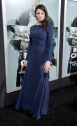 "Rachel Nichols carries the Jill Milan 450 Sutter clutch to the Hollywood premiere of ""Alex Cross"""