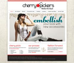 Cherry pickers, the blu group, advertising, marketing, website design, web design