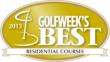 The Golf Club at Fiddler's Creek in Naples Florida ranked by Golfweek Magazine as one of the Top 100 Residential Golf Courses for the eighth consecutive year