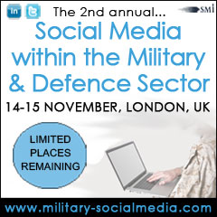 Social Media within the Military &amp; Defence Sector 2012