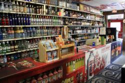 Interior of Regent Liquor, a madison liquor store celebrating its 35th anniversary.