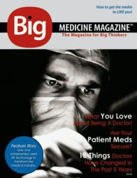 First Issue Cover of Big Medicine Magazine