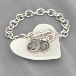 Photo Toggle Charm Bracelet