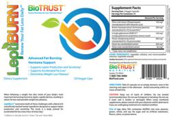 Biotrust Leptiburn ingredients