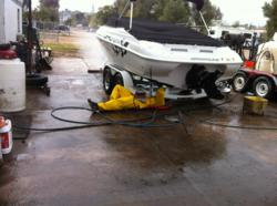 Boat cleaning in 2012 takes more work than recent years.