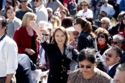 Assemblywoman Mary Hayashi at the Cesar Chavez National Monument Dedication