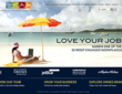 Home Page Preview of New World Travel Holdings' Website Portal