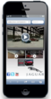Jivox Advertisement on iPhone 5