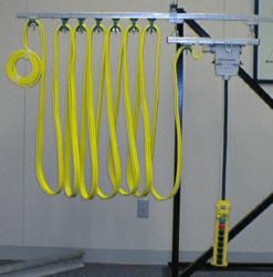 KH C Track Festoon System with Flat Cable