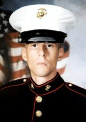 Marine Corporal Andrew White