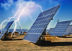 LBA PLP Lightning Mast protect solar arrays and their electronics from lightning damage.
