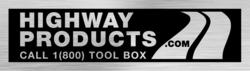 Highway Products toolbox nametag