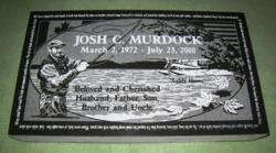 Josh Murdock Flat Marker Memorial