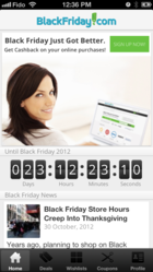 BlackFriday.com iPhone App