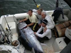Discovery channel 39 s new show fighting tuna accurately for Fishing shows on discovery channel
