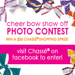 Chassé Cheer Bow Show Off photo contest