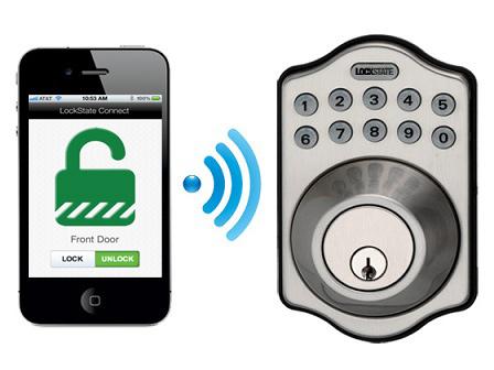 keyless entry home door locks