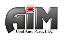 Aim Used Auto Parts Riverview Gibsonton Logo