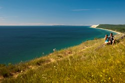 Summer at the Sleeping Bear Dunes