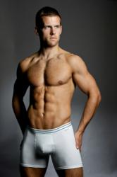 Sloggi pure cotton men's short which can be washed at up tp 90 degrees, available from DGU