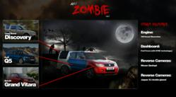 MotorTorque reveals zombie apocalypse-proof car: The Zombie MK1