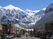 Winter in downtown Telluride, Colorado