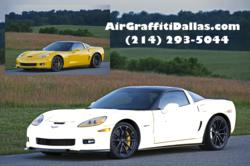 Car Dealership promotion tool by Air Graffiti Dallas