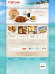 Tortuga Rum Cake Website