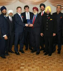 Mr RS Baxi  ; Sir Mota Singh QC ; Rt. Hon. Grant Shapps MP (Chairman of Conservative Party) ; Lord Andrew Feldman (Chairman of Conservative Party) ; Lord Inderjit Singh of Wimbledon CBE ; Dr M.S. Duggal ; Dr M.S Lamba ;Lord Dolar Popat