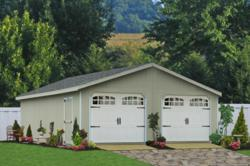 Modular 2 Car Garage in PA