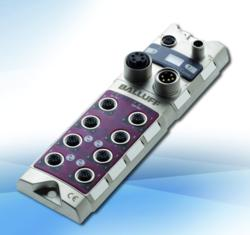 Balluff's CC-Link Master for Distributed Modular I/O applications.