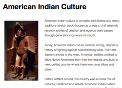 american indian history and culture