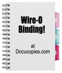 Wire-o binding coming this month to Docucopies.com!