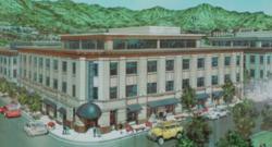 Office building sketch