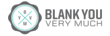 Blank You Very Much Logo