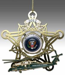 2012 Secret Service Christmas Holiday Ornament