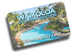 Kolea Hilton Waikoloa Village Amenity Card