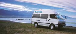 Lucky Rentals Campervan in New Zealand