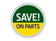 Save on John Deere parts with coupons and low pricing