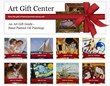 Additional online tools include overstockArt.com's  easy-to-shop Art Gift Center.