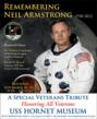 The USS Hornet to Pay Tribute to the Late Astronaut Neil Armstrong...