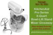 KitchenAid MixerGiveaway and Author Gluten Free Recipes Event