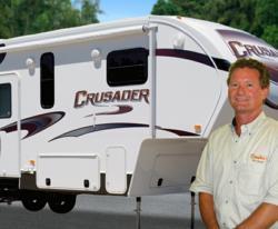 Brad Campkin and the new Crusader