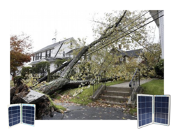 The damage caused by hurricane Sandy