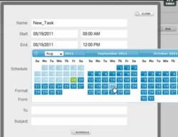 Javelin is web-based reporting simplified! Javelin is scheduled reporting simplified!