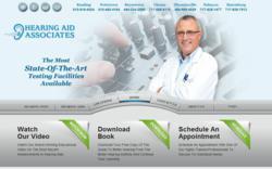 Hearing Aid Associates Website