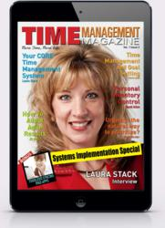 Time Management Magazine On The iPad Mini