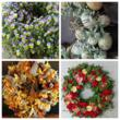 A Snapshot of Wreaths from James Farmers' latest book, A Wreath for All Seasons