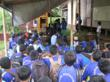 The Aspinall Foundation's Java Primate Project Team take part in educating local schools and groups